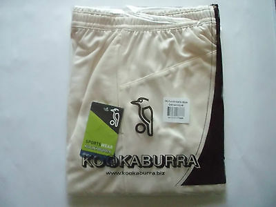 Brand New Kookaburra Pro Players Cream cricket Trousers Large
