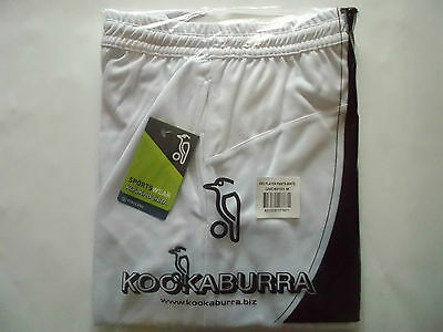 Brand New Kookaburra Pro Players White cricket Trousers Medium