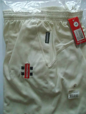 Brand New Gray-Nicolls Legend Cream cricket Trousers Large
