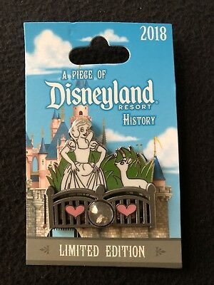 Disney DLR A Piece Of Disneyland History Snow Whites Grotto LIMITED EDITION PIN