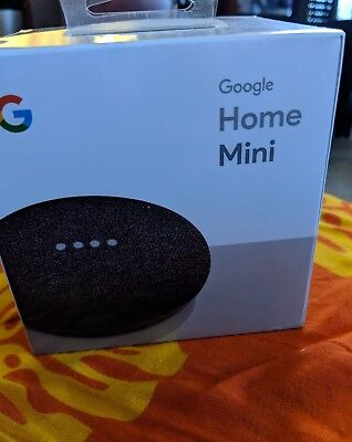 Google Home Mini in Charcoal New Unopened