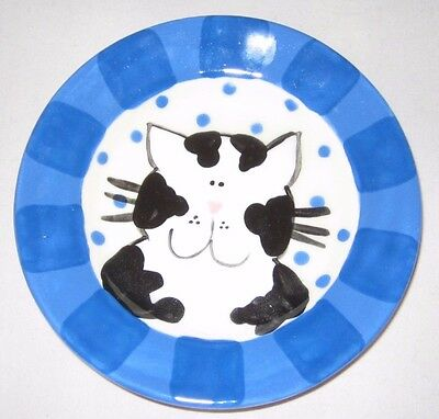 Decorative Cat Feeding Plate