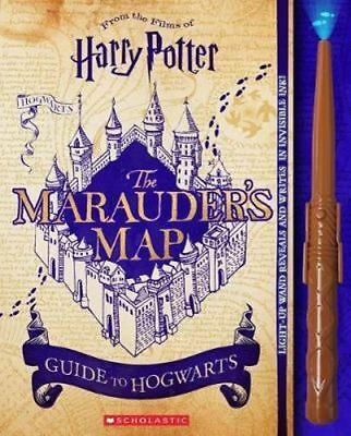 NEW The Marauder's Map Guide to Hogwarts (Harry Potter) By Erinn Pascal Hardcove