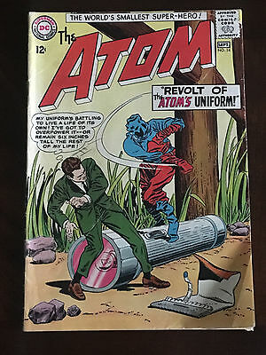 The Atom #14 1964 DC Silver Age VG
