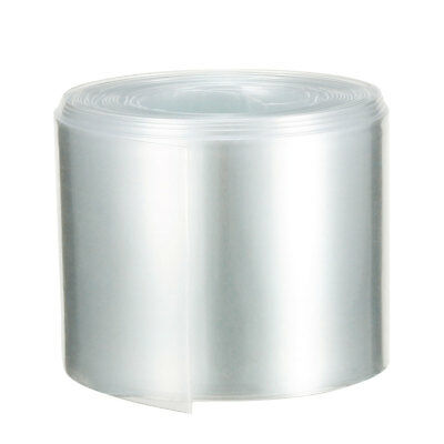 PVC Heat Shrink Tubing Tube 43mm Battery Wrap for 26650 Battery 5M Clear
