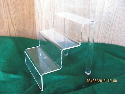 Clear Plastic Shelf Assembly Perfect Unit For Small Items