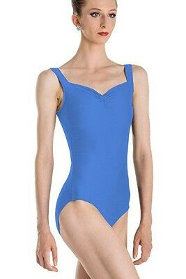 Wear Moi Faustine Leotard- Size M French Blue