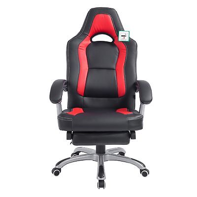 Reclining Chair Executive Racing Style Gaming Office Computer Versatile Desk