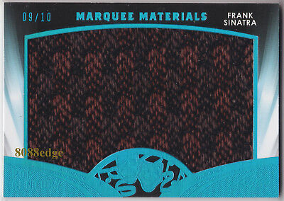 2016 Pop Century Marquee Materials: Frank Sinatra #9/10 Worn Wardrobe Swatch