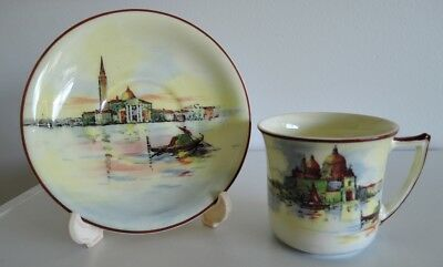Royal Doulton cup and saucer - Venice