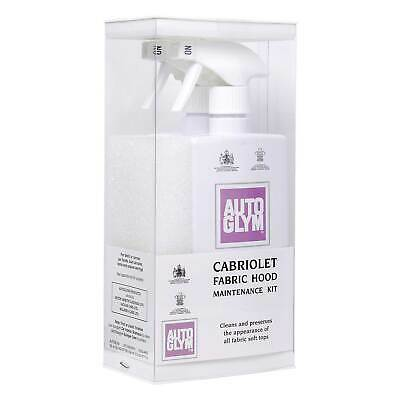 Autoglym Cabriolet Car Fabric Hood Maintenance Kit Tent & Awning Cleaner