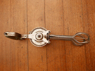 Vintage Antique Egg Beater Hand Mixer
