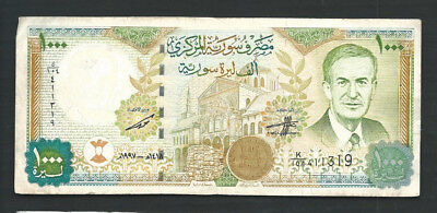 Syria 1997 1000 (1,000) Pounds P 111a Circulated