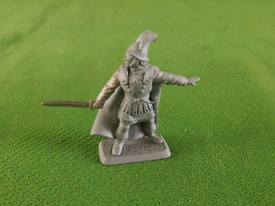 Unpainted Mithril Lord of the Rings Metal Figure #1