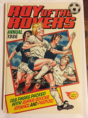 Roy of the Rovers Annual 1986  ***UNCLIPPED*** MINT
