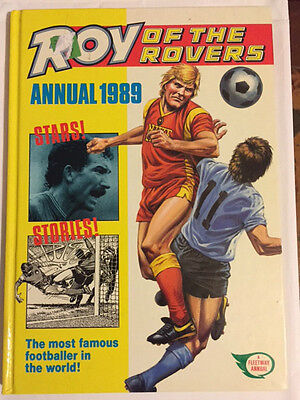 Roy of the Rovers Annual 1989  ***UNCLIPPED*** MINT