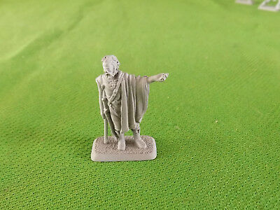 Unpainted Mithril Lord of the Rings Metal Figure #8
