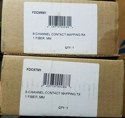 Comnet FDC8RM1 and FDCTM1 8 Channel mapping