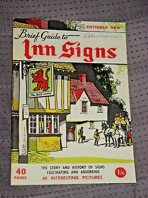 A Brief Guide To Inn Signs, England, West & North Country, Illustrated