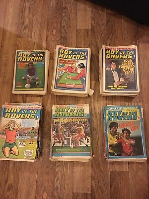 Roy Of The Rovers Vintage Comics