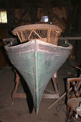 ANTIQUE BOAT Adirondack guide , 1890's to 1920's