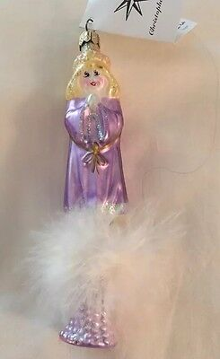 CHRISTOPHER RADKO CHRISTMAS ORNAMENT- Holiday ANGEL
