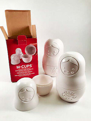 Fred M-CUPS Matryoshkas Doll nesting Measuring cups - NEW