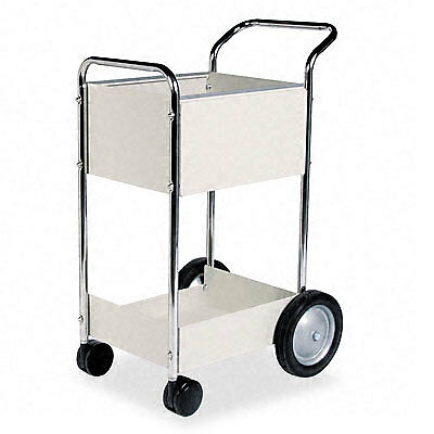 Fellowes Steel Mail Cart - 75 Folder Capacity
