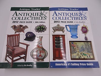 ANTIQUE TRADER ANTIQUE & COLLECTIBLES  2012 and 2013 PRICE GUIDES