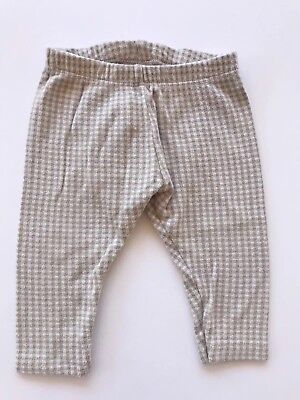 Zara Baby Girl Houndstooth Leggings 9-12 Months