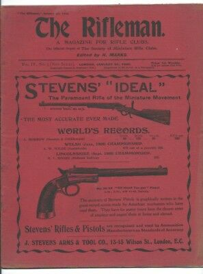 The Rifleman - The Magazine For Rifle Clubs. January 30 1909