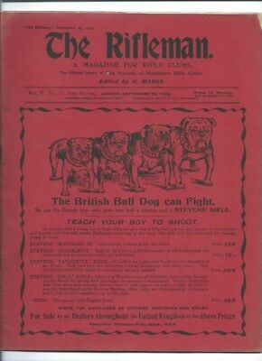 The Rifleman - The Magazine For Rifle Clubs. September 25th 1909
