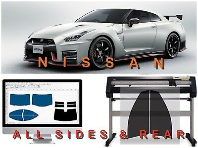 Fit For Nissan Precut Tint Front Windows Only (3 Years Warranty)