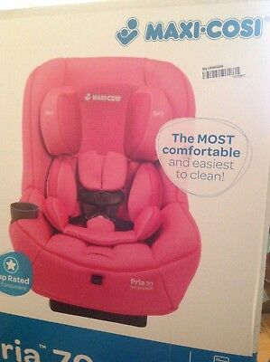 Maxi Cosi Pria 70 Convertible Car Seat In Pink Berry Brand New