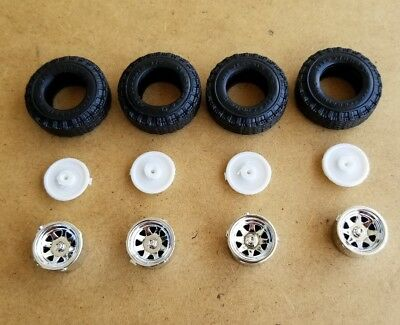 AMT 1/25 1978 FORD FIRESTONE 4x4 TRUCK WHEELS AND TIRES