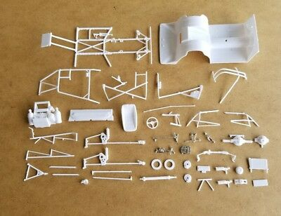 Revell 1/25 1957 CHEVY PRO SPORTSMAN CHASSIS & RELATED PARTS! MODIFIED MOD TOP
