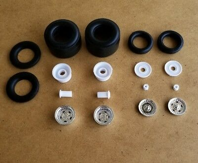Revell 1/25 1957 CHEVY PRO SPORTSMAN WHEELS AND TIRES! PRO MODIFIED MOD TOP