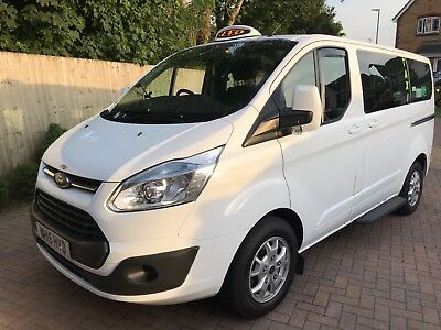 Ford Tourneo Custom Voyager Fx8 Taxi 2015 (15) wheelchair accessible hackney 67k