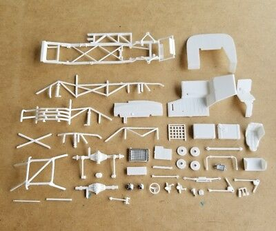 Revell 1/25 #52 SAI LANE AUTOMOTIVE ASA CHEVY CAMARO CHASSIS AND RELATED PARTS