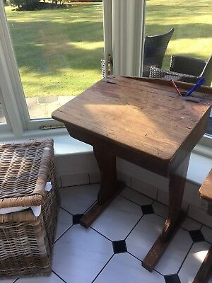 Vintage Oak school desk Table Pick Up Gerrards Cross SL9 Two Available