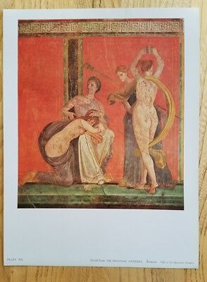 The Dionysiac Mysteries fine museum quality Ancient Roman art print