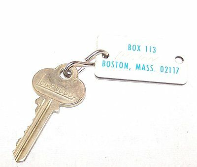 Vintage Boston Mass. Hilton Hotel Motel Lodge Inn Room Key Ex Gift Spa Card Ofr