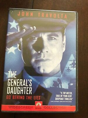 THE GENERAL'S DAUGHTER WIDESCREEN COLLECTION John Travolta DVD