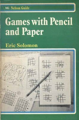 Games with Paper and Pencil (Nelson guide) by Solomon, Eric Paperback Book The