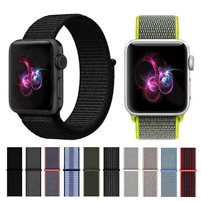 Apple Watch Nylon Armband / Sport Loop aus Nylon-Gewebe / Watch Series 1 / 2 / 3