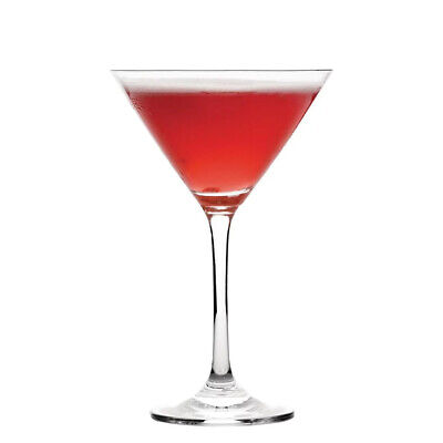 6x Martini Glass 160ml Olympia Commercial Bar Cocktail Cosmo Manhattan Negroni