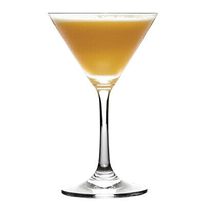 6x Martini Glass 275ml Olympia Commercial Bar Cocktail Cosmo Manhattan Negroni