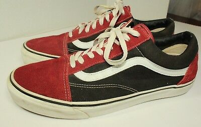 Men s VANS Old Skool Classic low lace up sk8 shoes Size 13 EUC B10 b92e41869