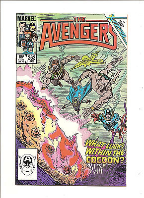 Avengers #263 NM- Art by John Buscema/Tom Palmer