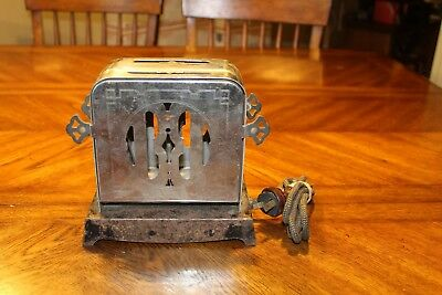 antique K - M co.  toaster Reverso works  art deco